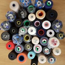 Mixed bundle of 40 quality sewing thread 75, 100, 120, 180 count - last lot