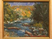 Frederick Munzing Impressionist Oil Painting LISTED (American, 1926-2007)