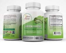 Nature's Prime Green Bean Coffee Extract 800mg with Chlorogenic Acid Veggie Caps