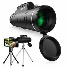 Monocular Telescopes 12x50 Dual Focus Waterproof Spotting Scopes Low Night with