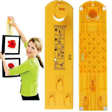 Frame Hanger Easy Wall Hanging Tool Hang & Level Makes Picture Hanging Easy Hang