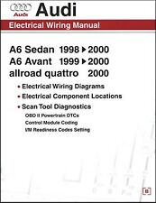 Audi Electrical Wiring Manual: A6 Sedan 1998-2000, A6 Avant 1999-2000, allroad q