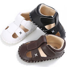 0-18M Summer Infant Boys Sandals Babys Boys Walking Shoes Soft Sole Crib Shoes