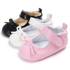 Newborn Baby Girls Shoes First Walkers Princess Soft Infant Child Toddler Shoes
