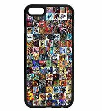 Marvel Comics Characters Rubber Bumper Hard Phone Case D4 for iPhone and Samsung