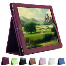 1 Pcs Litchi Pattern Protective Leather Fiber Lining Case For iPad 2/3/4 chs clr