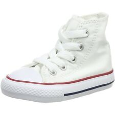 Converse Chuck Taylor All Star Hi Optical White Textile Baby Trainers