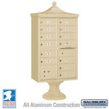 13 DOOR SALSBURY REGENCY DECORATIVE CBU CLUSTER MAILBOX - USPS Approved