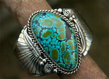 Natural 925 Silver Turquoise Women Jewelry Wedding Gift Engagement Ring Sz6-10