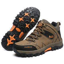 Men High Top Hiking Boots Outdoor Climbing Non-Slip Shoes Athlteic Shoes