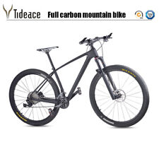 T800 Full Carbon Complete 29er Mountain Bike with XT Groupset OEM Complete Bike