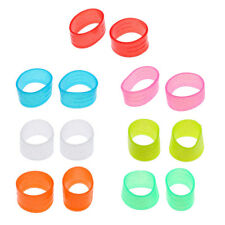 2Pcs Tennis Racket Grips Handle Fix Ring Protector Overgrip 7Colors Options