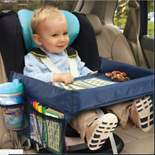 Waterproof Table Car Seat Tray Storage Kids Toys Infant Stroller Holder