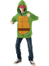 Boy's Teenage Mutant Ninja Turtles TMNT Raphael Hoodie Eyemask Costume