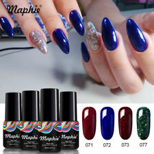 Maphie UV/LED 4Pcs/Set Nail Art Gel Polish Soak-off Manicure DIY Varnish Kit 6ml