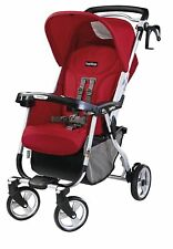 Peg Perego Mini Stroller in Fire Red or Java Brand New!!