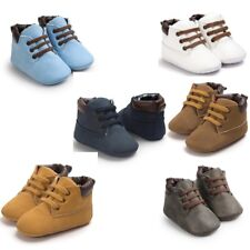 Toddler Baby Cute Soft Sole Leather Material Shoes Girls*Boys Crib Style