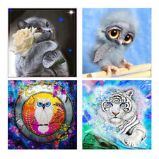 Cat Owl Tiger Partial Resin Diamond Painting DIY Cross Stitch Wall Home Decor Br