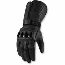 2018 Icon 1000 Womens Fairlady Leather Motorcycle Gloves - Pick Size