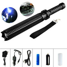 10000LM Zoomable Tactical Police LED 18650 Flashlight Torch Lamp Light Lantern