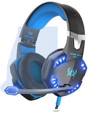G2000 PC Gaming Headset with Volume Control, Stereo Over Ear Headphones Micropho