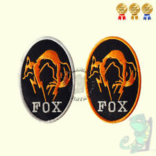 Metal Gear Solid Kojima Foxhound Fox Hound Embroidered Iron On Sew On Patch