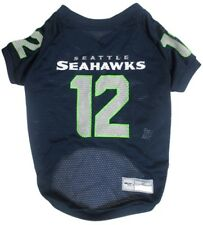 Seattle Seahawks Officially Licensed 12th Man NFL Dog Jersey Sizes XS-XXL