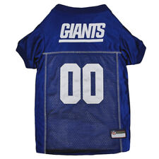 New York Giants NFL Pets First Licensed Dog Embroidered Pet Jersey XS-L