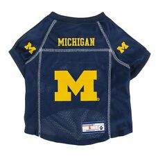 Michigan Wolverines NCAA LEP Dog Mesh Jersey Officially Licensed Sizes XS-XL