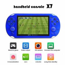 Portable 4.3 Inch 300+ Free Games Built-in Handheld Video Game Console Player