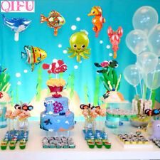 QIFU 6pcs Animal Foil Balloon Animal Ballons Birthday Party Decor Kids Birthday