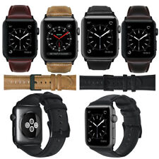Genuine Leather Wrist Strap Watch Band for Apple Watch iWatch 3 2 1 38mm 42mm