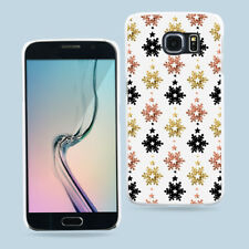 Xmas Deer Snow Phone Protective Case Cover for Samsung Galaxy S7 Edge S8 Wide
