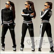 WOMEN GIRL new Tracksuit Hoodies Sweatshirt Pants Sets Sport Wear Casual suit am