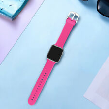 38/42mm Silicone iWatch Band Fashion Wrist Strap Bracelet for Apple Watch 1 2 3