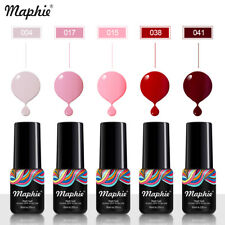 Maphie 78 Color UV Gel Shiny Pure Color UV Nail Gel Polish Soak Off Nail Art Led
