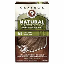 Clairol Natural Instincts Semi-Permanent Hair Color Kit For Men, 3 Pack, M9 L...