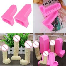 3D Silicone Penis Cake Soap Mold Chocolate Jelly Candy Baking Mould Party Decor