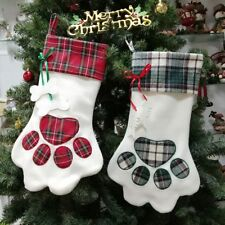 1pc Christmas Stockings Fashion Xmas Tree Hanging Decoration New Year Party