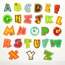 Embroidery Funny Letter A-Z Sew Iron On Patch Badge Fabric Applique DIY