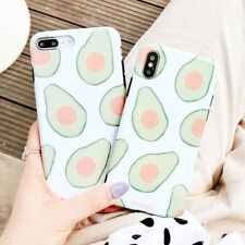 Cartoon TPU Avocado Silicone Phone Case Cover For iPhone X 8 7 6S Plus XR XS Max