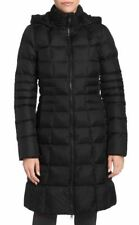 THE NORTH FACE TNF NEW METROPOLIS II HOODED DOWN PARKA BLACK CURRENT BNWOT $289