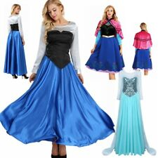 Women Elegant Dress Princess Party Gown Ball Xmas Fancy Outfit Costume Halloween
