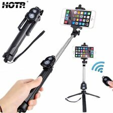 Selfie Stick Tripod Bluetooth Remote Control Button Wireless Android