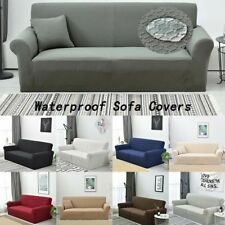 Stretch Sofa 1/2/3/4 Seater Waterproof Slipcover Couch Cover Furniture Protector