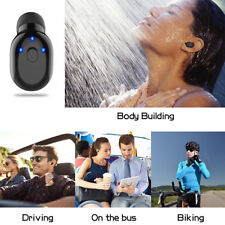 Mini Wireless Bluetooth 4.1 Stereo Waterproof Headset In-Ear Earphone Earbud CHK