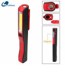 Portable Cob Led Flashlight Magnetic Work Light Rechargeable 180 Degree Stand Ha