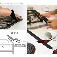 Kitchen Silicone Stove Gap Cover Oven Protector Counter Filler Sealing Spills