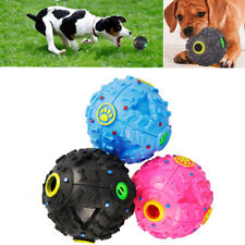 1PC Giggle Dog Ball Training Sound Hot Activity Pet Tough Squeaky Treat Chew Toy