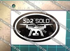 3DR Solo Drone Decal Sticker Quadcopter drone oval UAV FPV Die cut vinyl